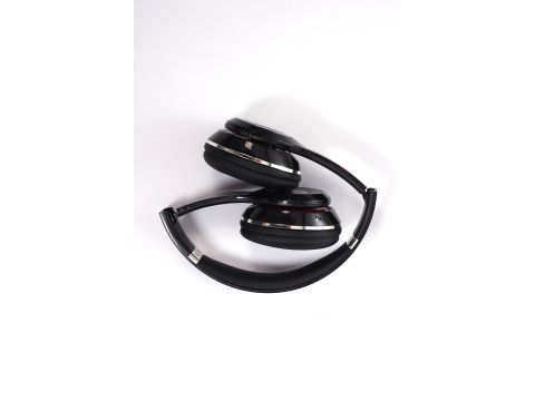 Наушники беспроводные MDR S460 Bluetooth с FM и MP3 Black (1000243)