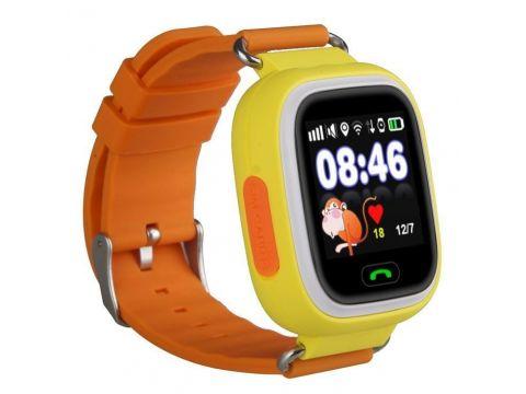 Детские часы с GPS Smart Baby Watch Q90-PLUS Желтые