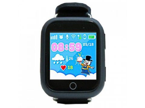 Детские умные смарт часы с GPS Smart Baby Watch Q100-PLUS Черные (jGtS85189)