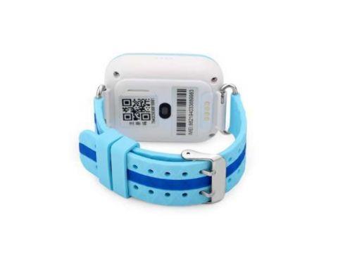 Детские умные смарт-часы с GPS Smart Baby Watch Q100-PLUS Голубые (UyEC15221)