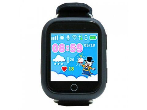 Смарт-часы детские Smart Watch Q100S/GW200S с GPS Черные (12899)