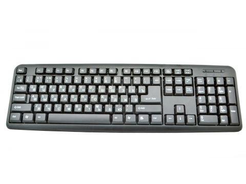 Клавиатура проводная USB X1 Черный (hub_Izld88498)