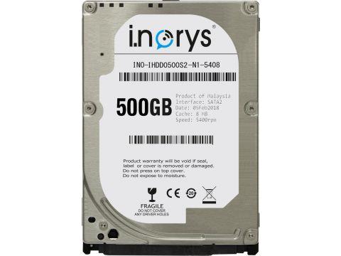 Жесткий диск i.norys 500GB 5400rpm 8MB (INO-IHDD0500S2-N1-5408) 2.5 SATA II (2180-7155)