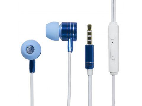 Наушники с микрофоном Langsdom I-7 Blue (1842-6048)