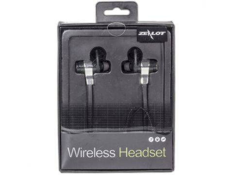 Беспроводные Bluetooth наушники с микрофоном Zealot H2 Black (1450-6047)