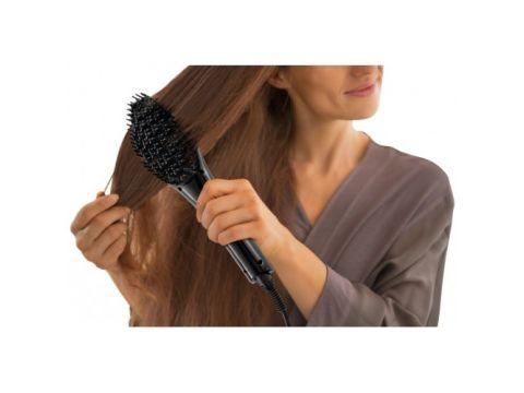 Расческа для выпрямления волос Trisa Smooth Ceramic Черная (4619)