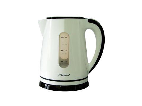 Электрический чайник Maestro Белый с черным (1786)