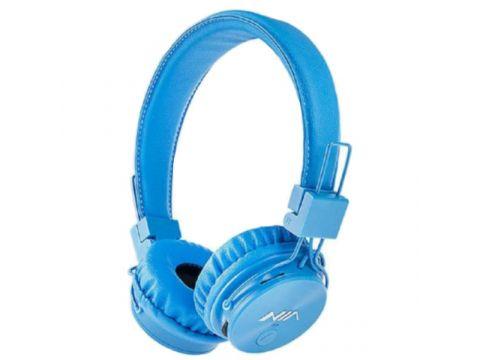 Беспроводные Bluetooth наушники с MP3 плеером NIA-X3 Синие (46162)