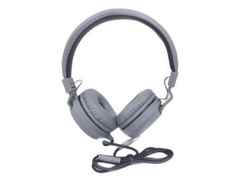 Проводные наушники UKC MDR SE5222 с микрофоном гарнитура Серые (44973)