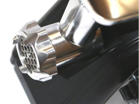 Электрическая мясорубка Rainberg RB-672 3000W с реверсом + соковыжималка Черный (in-71)