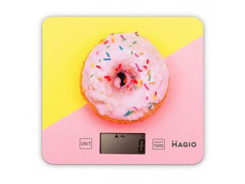 Весы кухонные MAGIO Розовый (MG-797)