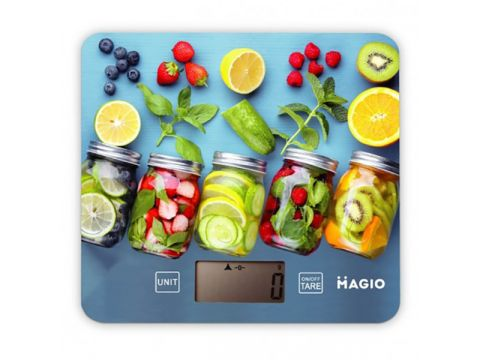Весы кухонные MAGIO Рисунок (MG-796)