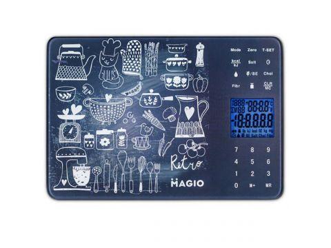 Весы кухонные MAGIO Серый (MG-692)