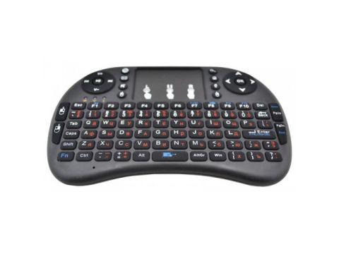 Беспроводная русская мини клавиатура с тачпадом Rii mini i8 2.4G Черный (in-73)