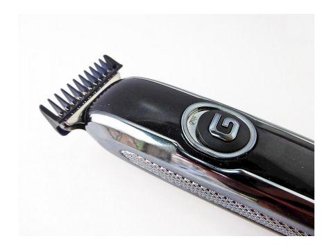 Беспроводная машинка для стрижки волос Gemei GM-6050 Черный с серым (200412)