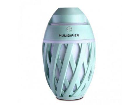 Мини увлажнитель воздуха ночник Anymore small humidifier Мятный (15667G)