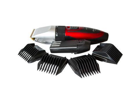 Машинка для стрижки волос Pro Gemei с керамическими лезвиями Черно-красный (2053)