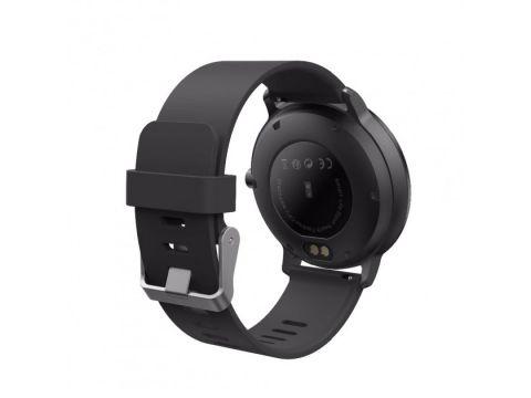 Смарт часы с тонометром фитнес браслет UWatch V11 Black (in-90)