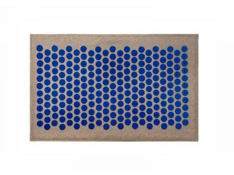 Массажный коврик Onhillsport  Lounge Medium аппликатор Кузнецова 68 х 42 см Синий (LS-1001)