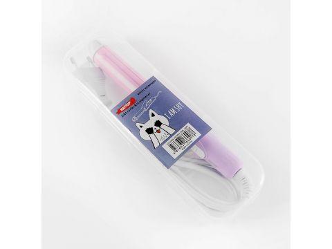 Мини плойка-выпрямитель для волос MAXTOP дорожная Розовый (RN 259)