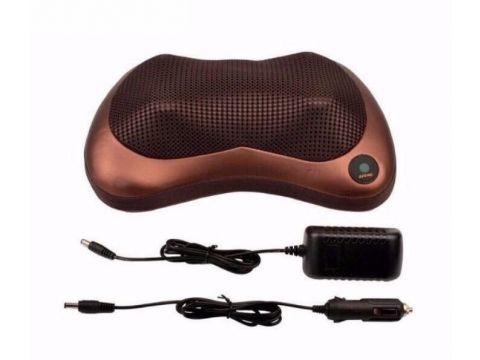 Массажная подушка для спины и шеи CHM-8018 Коричневый (R0171)