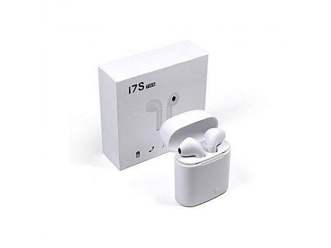 Беспроводные наушники гарнитура blootuch i7 TWS plus White (YFHBVBVCGFRT788Y)