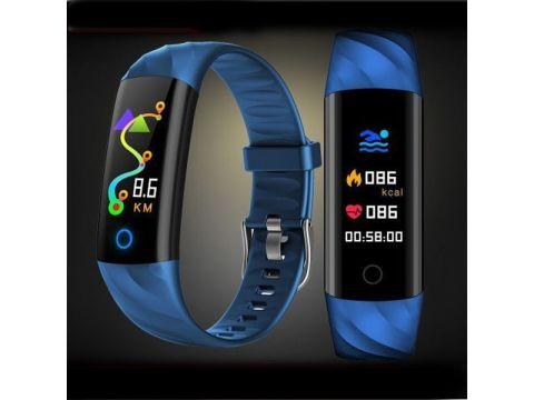 Фитнес-браслет Smart Band UMax S5 Тонометр Синий (gkmg32594)