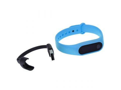 Фитнес браслет Smart Band UMax M2 Тонометр Голубой (hub_lfIx49696)