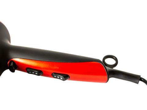Фен Maestro 2200 Вт Красно-черный (2223)
