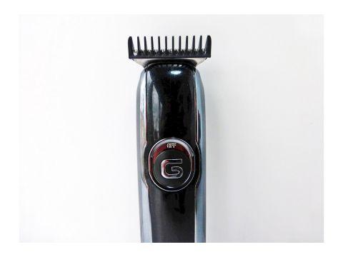 Машинка для стрижки волос на аккумуляторе Gemei GM 6050 black (mx-67)