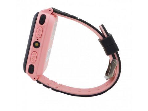 Детские умные часы UWatch F3 с GPS Pink (FL-137)
