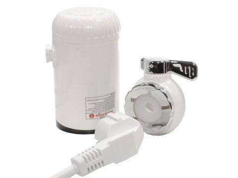 Электрический проточный водонагреватель Sast RX-013 LCD дисплеем 3000 Вт Белый (2910-8854)