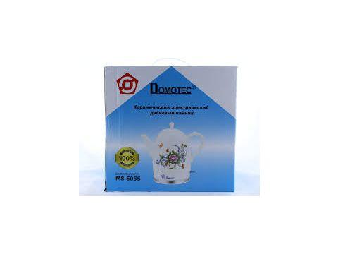 Электрочайник керамический Domotec MS-5055 1.7 л Белый (FL-238)