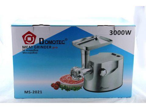 Мясорубка DOMOTEC MS-2021 S 3000 Вт Steel (FL-298)