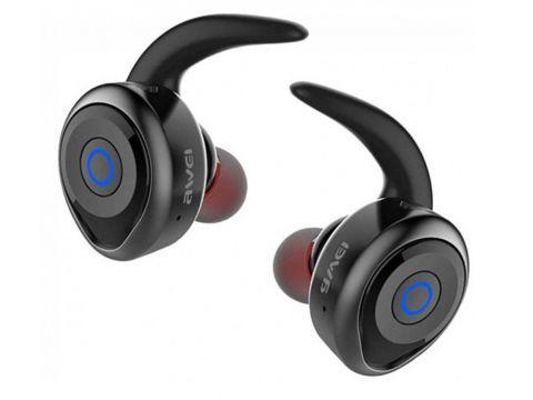 Bluetooth наушники Awei T1 Чёрный (46340)