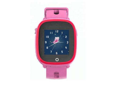 Детские умные водонепроницаемые смарт-часы с GPS и камерой DF31G шагомер будильник Pink (SWDF31GP)