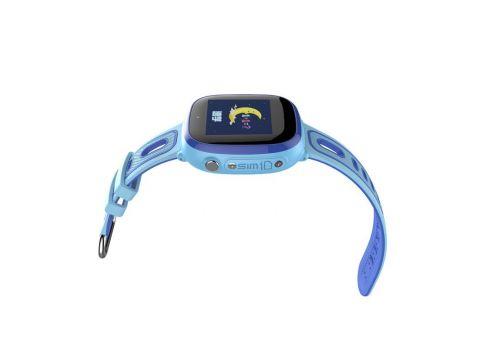 Детские умные водонепроницаемые смарт-часы с GPS и камерой DF31G шагомер будильник Blue (SWDF31GB)