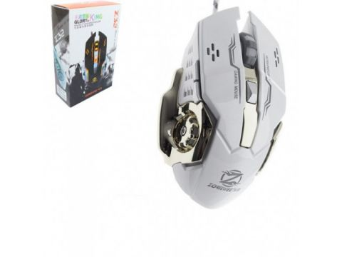 Игровая мышь с RGB подсветкой Zornwee Z32 Белая (46430)