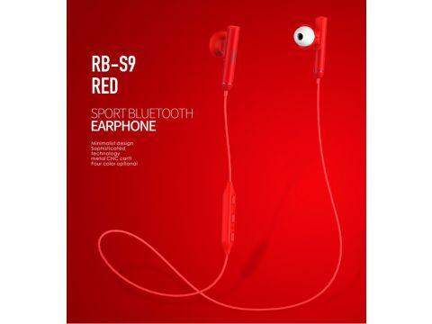 Наушники bluetooth Remax RB-S9 Red (6954851278092)