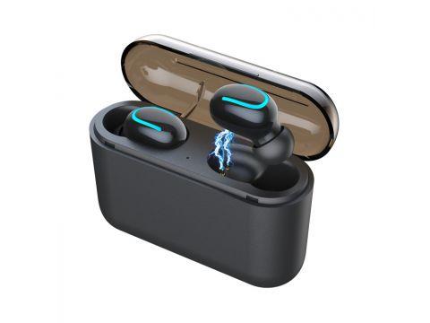 Бездротові навушники HBQ Q32 TWS Bluetooth Чорний (SUN4025)