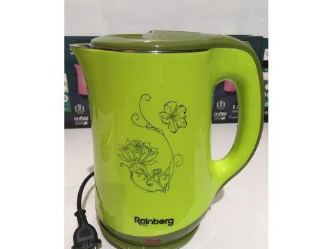 Чайник электрический дисковый RAINBERG RB-903 2.5 л 1500 Вт Green (210028)