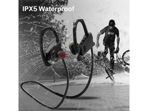 Беспроводные Bluetooth наушники 2day FY-Q9 с технологией шумоподавления и защитой IPX5 Black (2d-403)