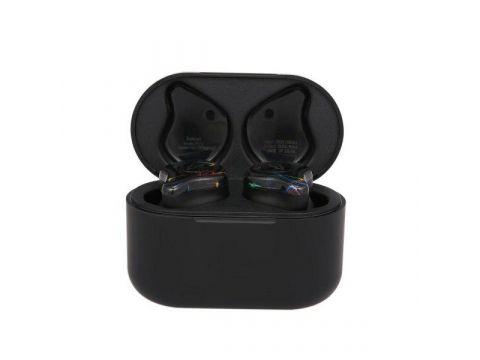 Беспроводные Bluetooth наушники Sabbat X12 с чехлом для зарядки 750 мАч Черно-синий (hpsabx12blbu)