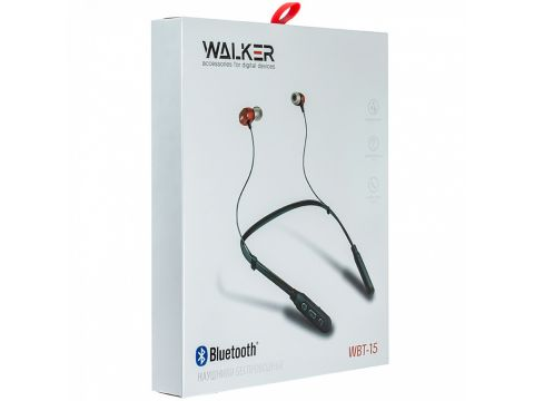 Bluetooth гарнитура Walker WBT-15 Черный (hub_Iofp57314)