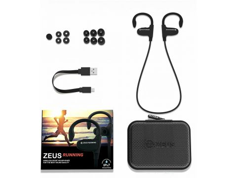 Навушники AIRON ZEUS Running Black (6945545500236)