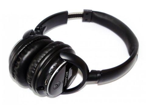 Беспроводные Bluetooth стерео наушники Atlanfa AT-7612 с MP3 плеером и FM радиоприемником Черный (258551)
