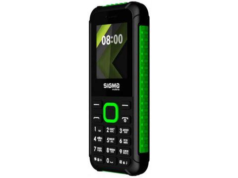 Sigma mobile X-style 18 Track Dual Sim Black/Green