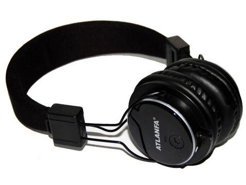 Беспроводные Bluetooth наушники Atlanfa AT-7611 Черные (300436)