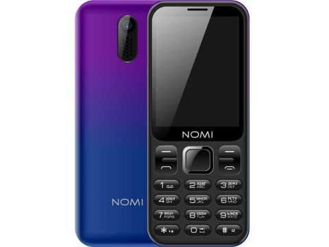 Nomi i284 Dual Sim Violet/Blue
