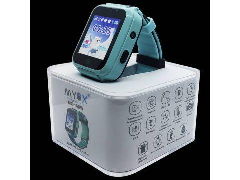 Детские смарт-часы GPS MYOX МХ-16BW Blue